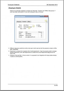 Example specification - page 3