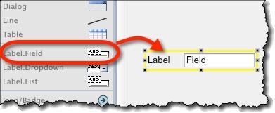Labeled field widget